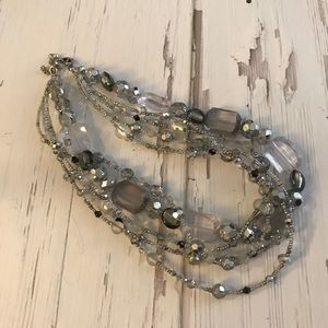 Multi strand sparkly beaded Necklace